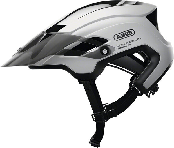 ABUS MonTrailer Helmet Color: Polar White