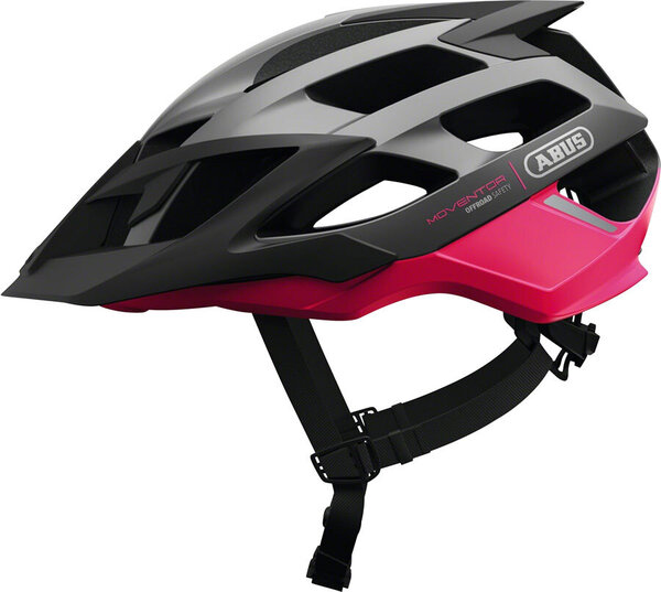 ABUS Moventor Helmet Color: Fuchsia Pink