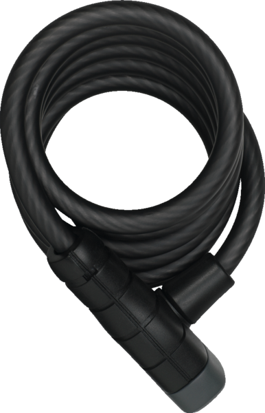 ABUS Primo 5510 Spiral Cable Lock Color: Black