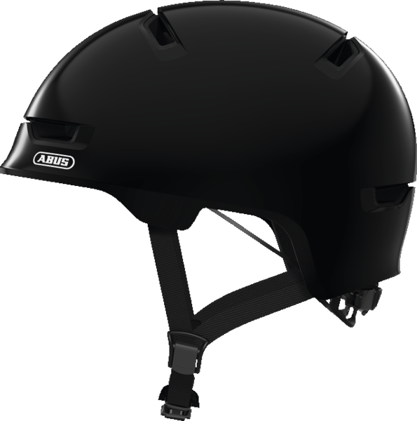 ABUS Scraper 3.0 Kid Bike Helmet Color: Shiny Black