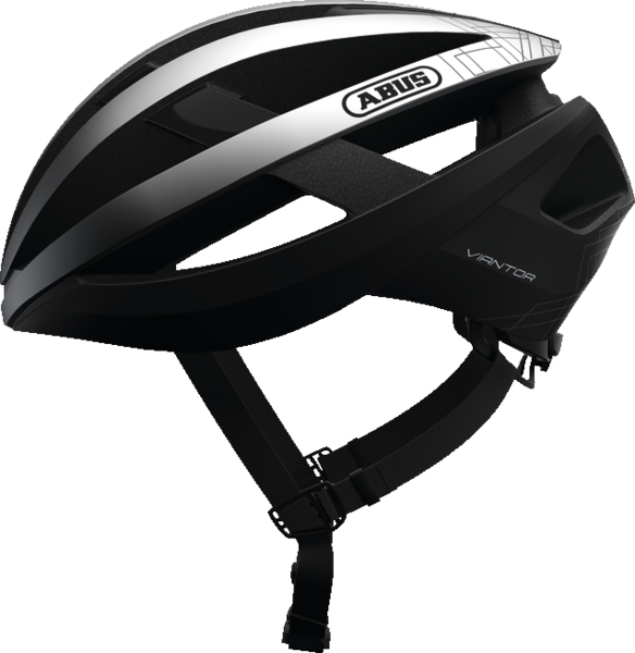 ABUS Viantor Bike Helmet Color: Gleam Silver