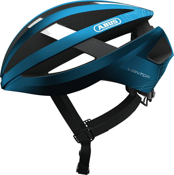 ABUS Viantor Helmet Color: Steel Blue