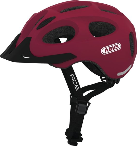 ABUS Youn-I Ace Color: Cherry Red