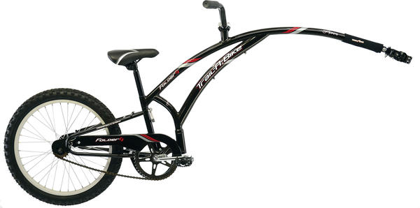 Adams Original Folder 1 Trail-A-Bike Color: Black