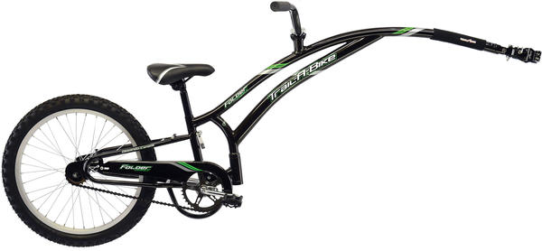 Adams Original Folder Compact Trail-A-Bike Color: Black