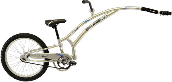Adams Original Folder Compact Trail-A-Bike Color: Silver