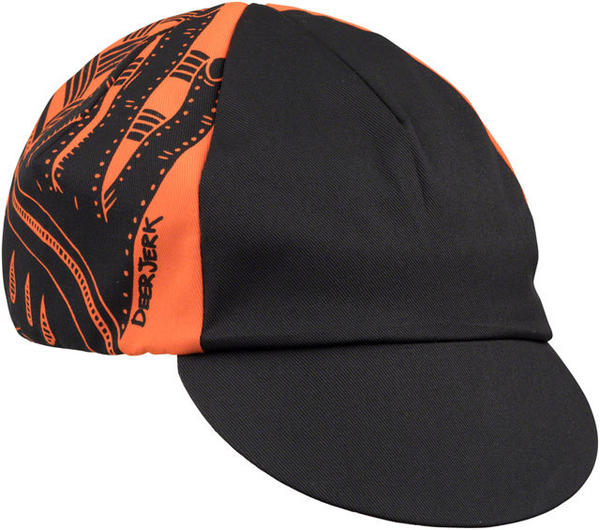All-City All-City/DeerJerk Cycling Cap Color: Orange/Black