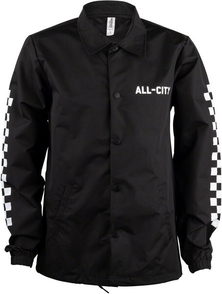 All-City Tu Tone Jacket Color: White/Black