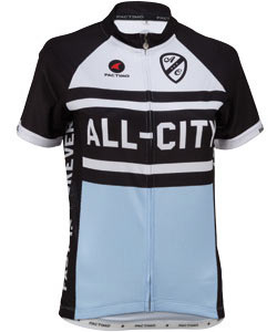 All-City Big Gulp Jersey Color: Black/Light Blue