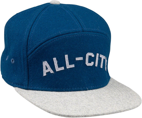 All-City Chome Dome Cap Color: Blue/Gray