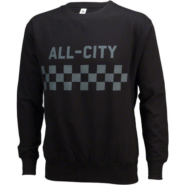 All-City Classic Crew Sweatshirt Color: Black