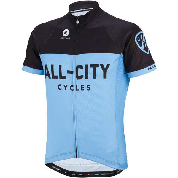 All-City Classic Men's Jersey Color: Blue/Black