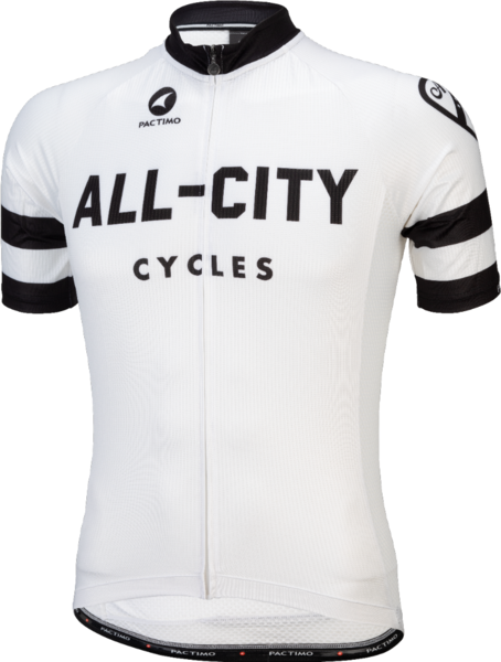 All-City Classic Men's Jersey Color: White/Black