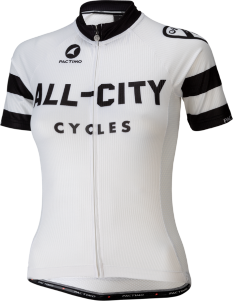 All-City Classic Women's Jersey Color: White/Black