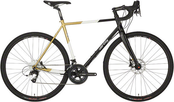 All-City Cosmic Stallion Color: Black/White/Gold