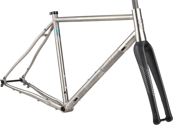All-City Cosmic Stallion Ti Frameset Color: Silver