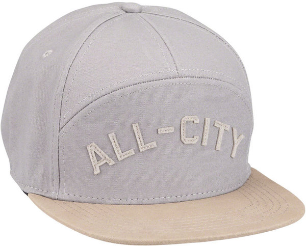 All-City Damn Fine Chome Dome Cap Color: Charcoal/Khaki
