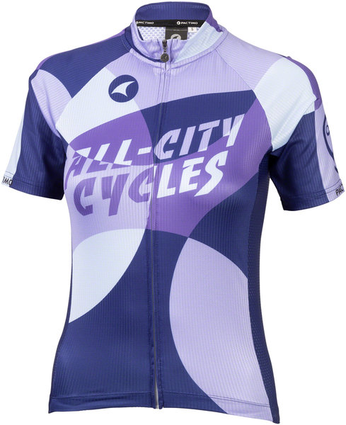 All-City Dot Game Women's Jersey Color: Dark Purple/Purple/Lavender