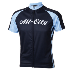 All-City Fast is Forever Jersey Color: Black/Blue
