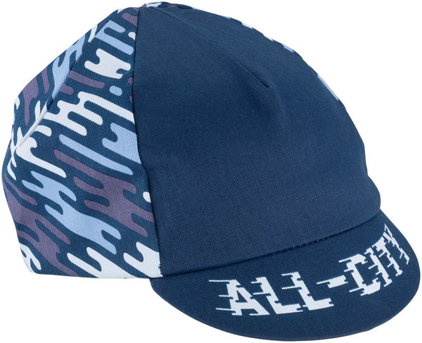 All-City Flow Motion Cycling Cap Color: Blue
