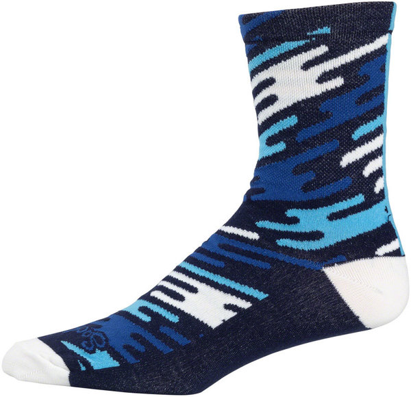 All-City Flow Motion Socks Color: Blue