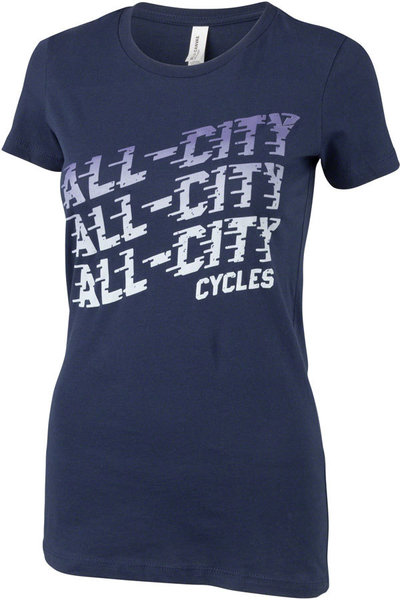 All-City Flow Motion Women's T-Shirt Color: Blue