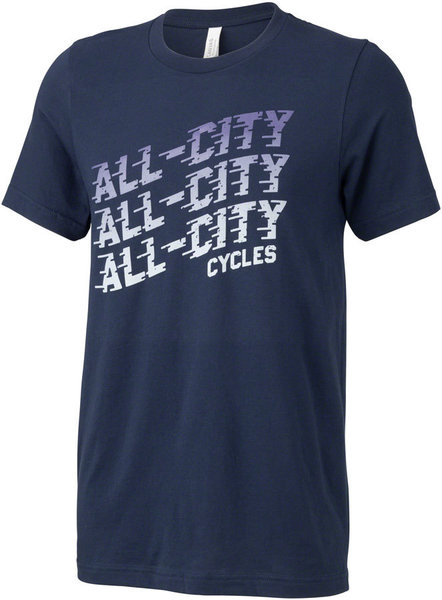 All-City Flow Motion Men's T-Shirt Color: Blue
