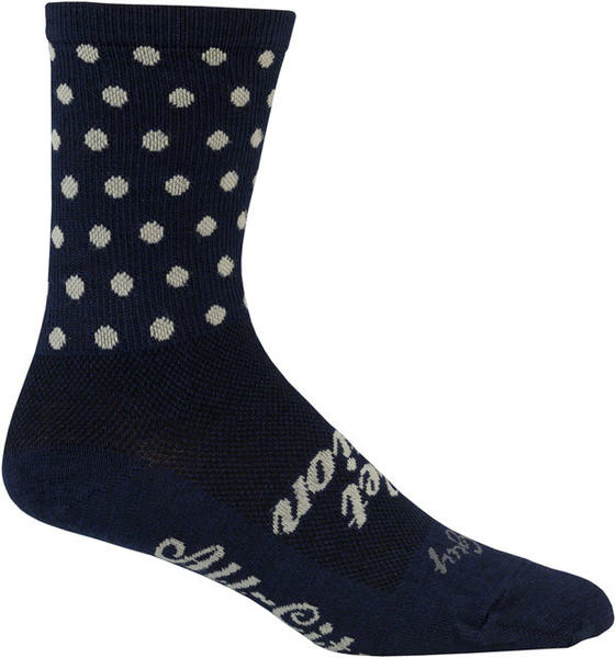 All-City Get Action Socks Color: Blue/Oatmeal