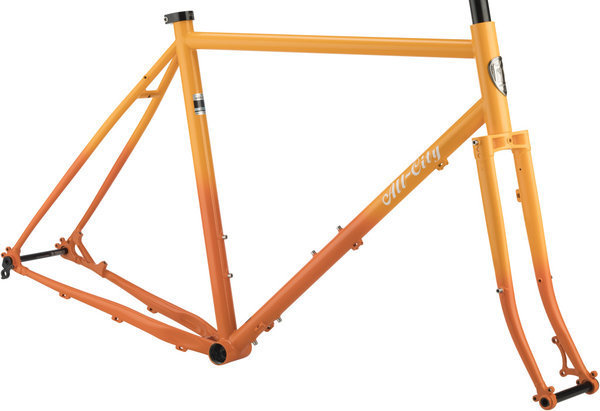 All-City Gorilla Monsoon Frameset Color: Sunrise Fade
