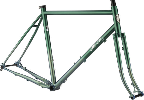 All-City Gorilla Monsoon Frameset Color: Green Fade