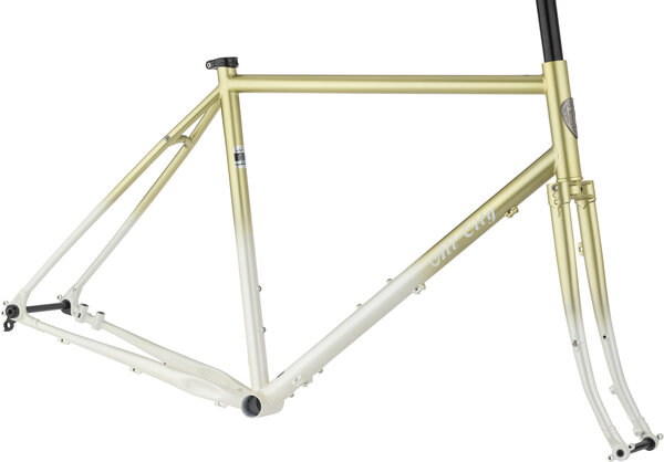 All-City Gorilla Monsoon Frameset Color: Pineapple Sundae