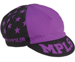 All-City Let's Go Crazy Cycling Cap Color: Purple