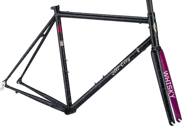 All-City Mr. Pink Tenth Anniversary Frameset Color: 10th Anniversary Splatter