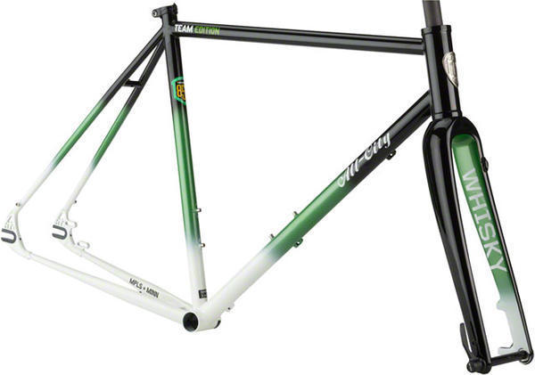 All-City Nature Boy 853 Frameset Color: Team Fulton Black/Green/White Fade