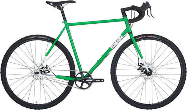 All-City Nature Boy Disc Frameset Image differs from actual product. Complete bike shown.