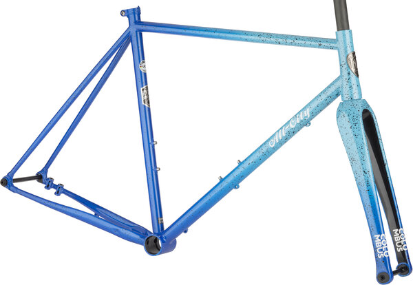 All-City Nature Cross Single-Speed Frameset Color: Propane Flame