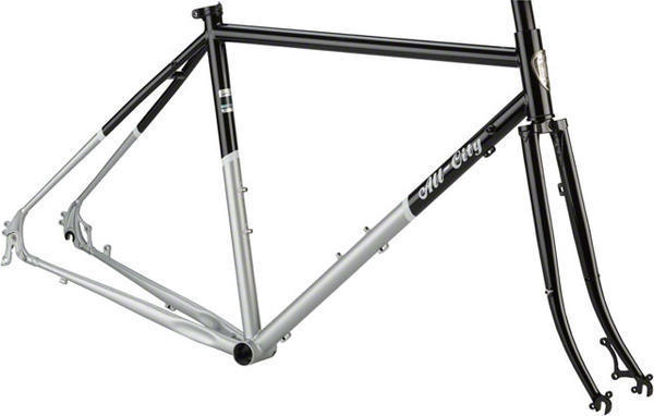 All-City Space Horse Disc Frameset Color: Black/Silver