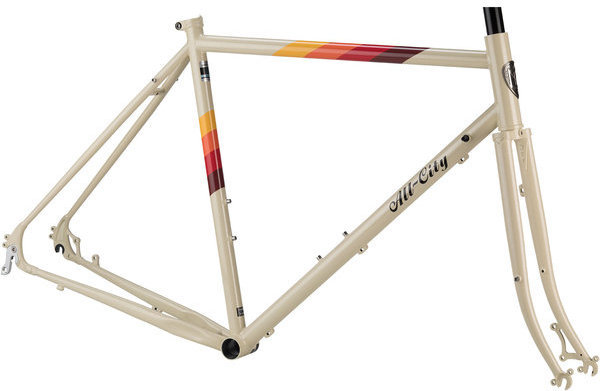 All-City Space Horse Frameset Color: Cream