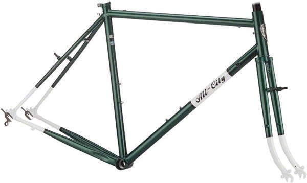 All-City Space Horse Frameset Color: Green/White
