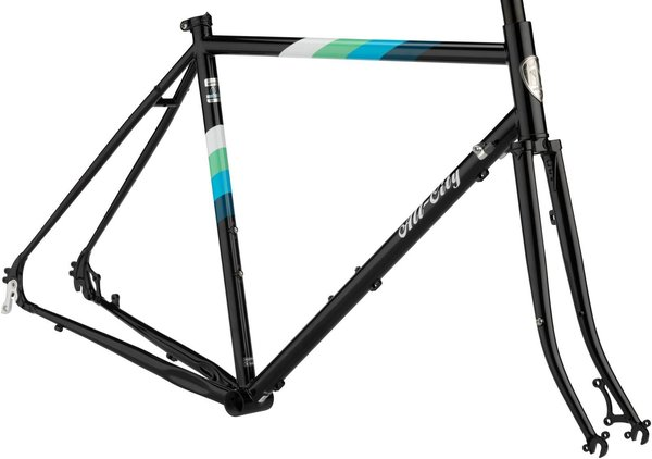 All-City Space Horse Disc Frameset Color: Black