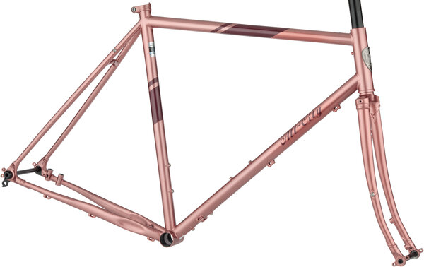 All-City Space Horse Frameset Color: Dusty Rose
