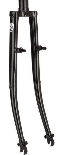 All-City Space Horse Randonneur Fork Color: Black