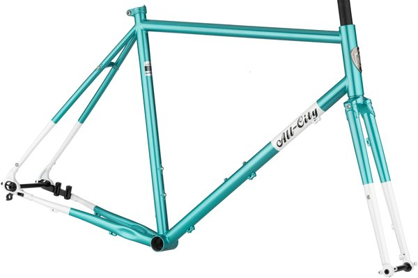 All-City Super Professional Frameset Color: Blue Panther