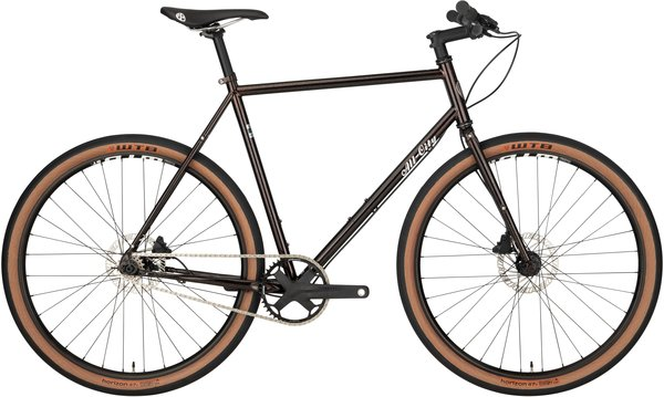 All-City Super Professional Single Speed Bike Color: Goldust