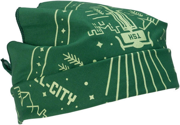 All-City Team Space Horse Bandana Color: Green