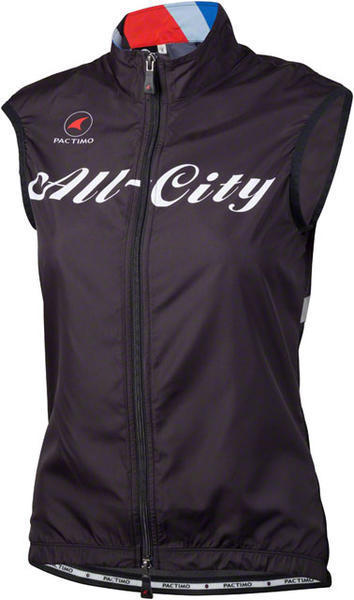 All-City Team Vest Color: Black/Red/Blue