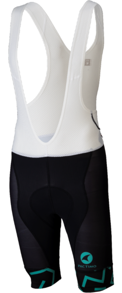 All-City The Max Men's Bib Short Color: Black/Mint