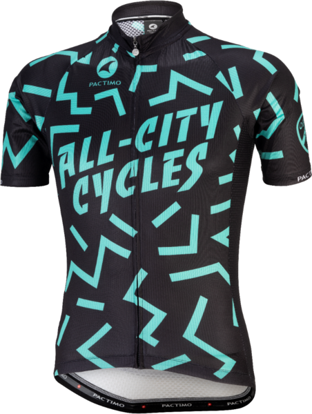 All-City The Max Men's Jersey Color: Black/Mint