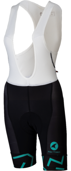 All-City The Max Women's Bib Short Color: Black/Mint