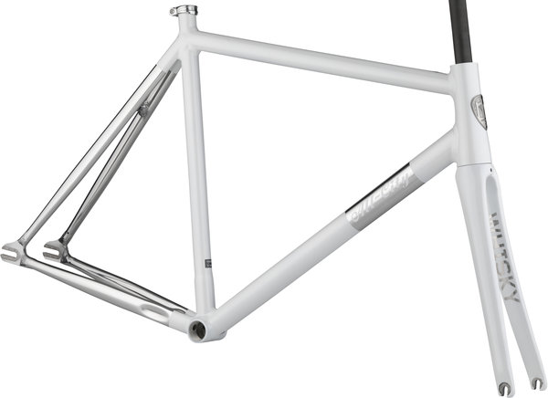 All-City Thunderdome Frameset Color: Polished Pearl